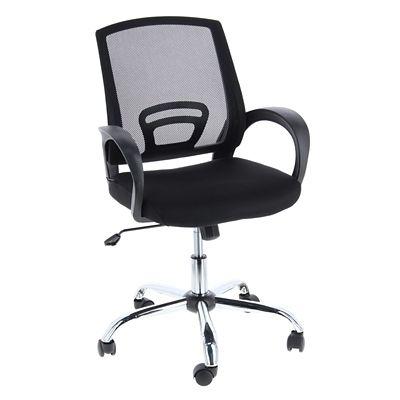 Cadeira de Escritório Crater Preto