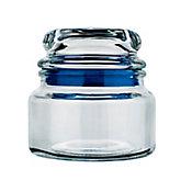 Pote de Vidro Hermético 350ml Fecha Fácil Transparente Sortido