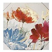 Tela Canvas Folhas 60x90cm Colorido