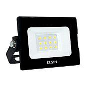 Refletor Power LED 10W 6500K IP65 Preto
