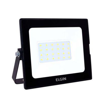 Refletor Power LED 30W 6500K IP65 Preto