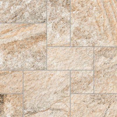 Piso Pedra Rústica HD 57180 57x57cm Caixa 2,60m² Bege