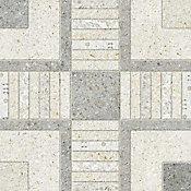 Piso Geométrico PD-35640 45x45cm Caixa 2,32m² Cinza