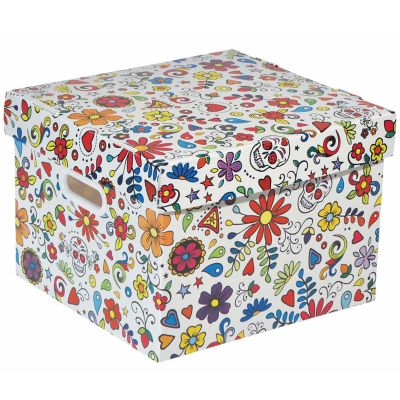 Caixa Organizadora Joy Pequena Floral