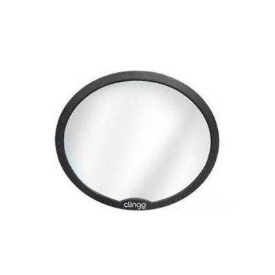 Espelho Retrovisor Redondo para Automóvel Preto