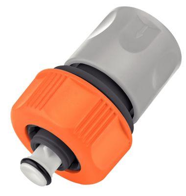 Engate Rápido com Aquastop 5/8 e 3/4 Laranja e Verde