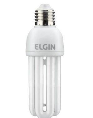 Lâmpada Fluorescente Compacta E27 3U 15W 127V Branco