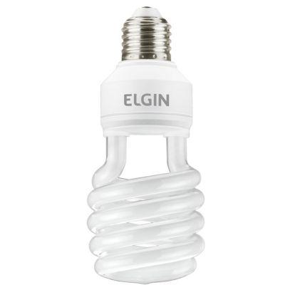 Lâmpada Fluorescente Compacta Espiral E27 20W 127V Branco