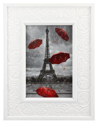 Porta Retrato Rococo 10x15cm Branco