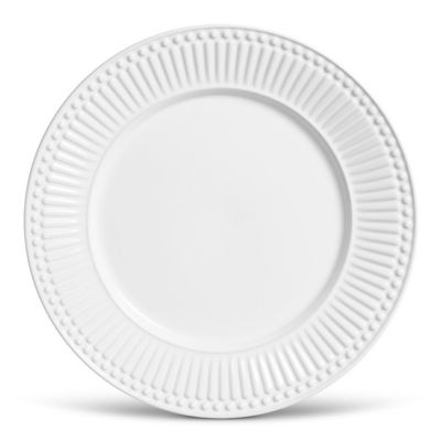 Prato Raso Roma Cerâmica Branco