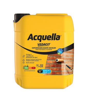 Acquella Impermeabilizante Base Agua Bombona 5 L incolor