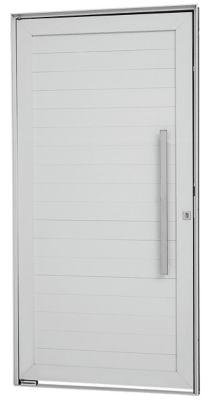 Porta Pivotante Alumínio Branco Direita 216x100x8cm Alumifort