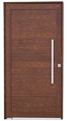 Porta Pivotante Alumínio Cerejeira Direita 216x100x8cm Alumifort