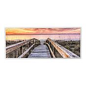 Quadro Ponte Zen 30x90cm