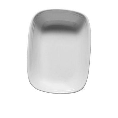 Saladeira Retangular 17cm Roma Branco