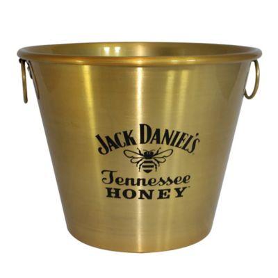 Balde para Gelo Jack Daniels 5L Dourado