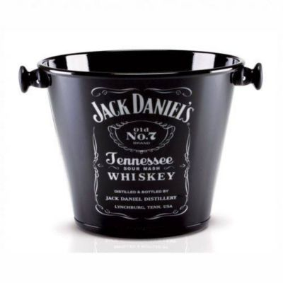 Balde para Gelo Jack Daniels 5L Preto
