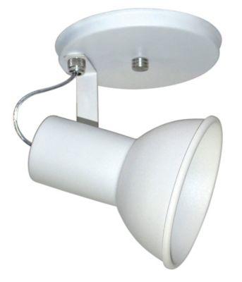 Spot de Sobrepor 1 Lâmpada 1027 100W Bivolt Branco