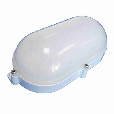 Luminária Arandela Tartaruga LED 7W Bivolt Branco Leitoso