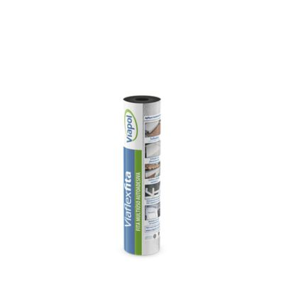 Fita Aluminizada Viaflex Sleeve 45cmx10m Prata