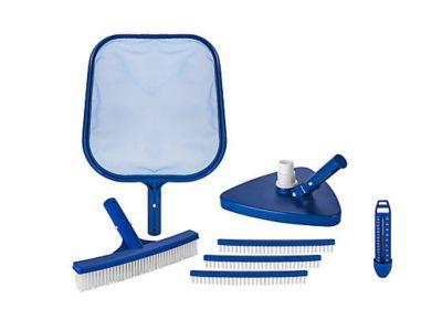 Kit Limpeza para fundo da Piscina Azul