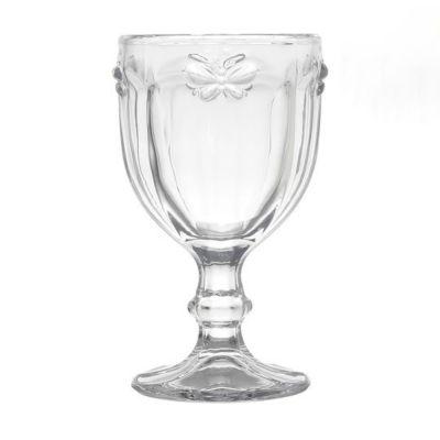 Taça para Água Borboleta 260ml Incolor
