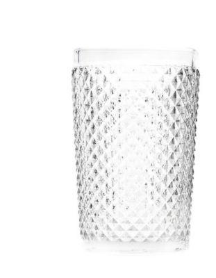 Copo Alto Vidro Sodo-Calcico Bico de Jaca 355ml Incolor