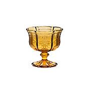 Taça de Vidro para Champagne Bico de Jaca 185ml Turquesa