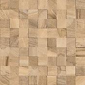 Porcelanato Simetria Wood Bege 60x60cm Caixa 1,70m² Retificado Bege