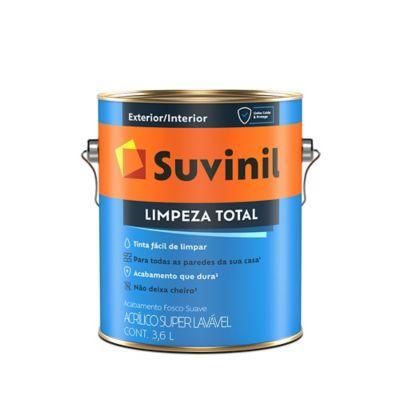 Tinta Fosco Exterior e Interior Limpeza Total Premium 3,6L Branco