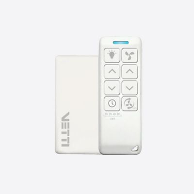 Kit Smart Controle Remoto para Ventilador de Teto Bivolt Branco