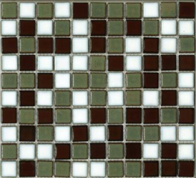 Pastilha de Porcelana PL8417 Miscelânea 2,5x2,5cm 30x30cm Multicolorido
