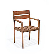 Cadeira Verona com Braços Nogueira