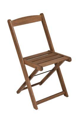 Cadeira Dobravel Bar Marrom