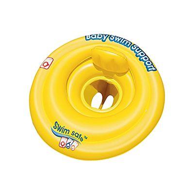 Boia Circular Swim Safe ABC Amarelo