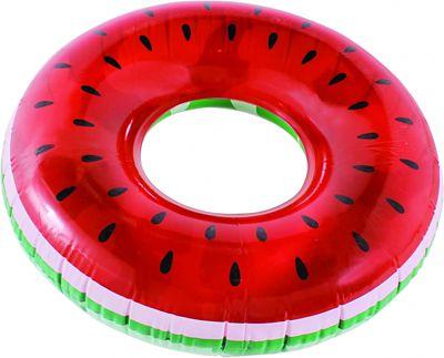 Boia Inflável G Anel de Melancia Vermelho e Verde