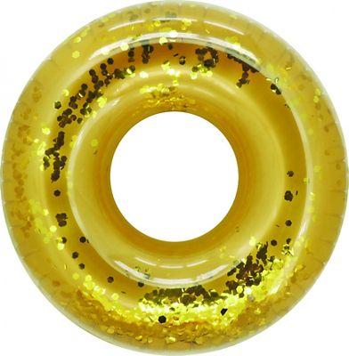 Boia Inflável G Anel Dourado e Prata