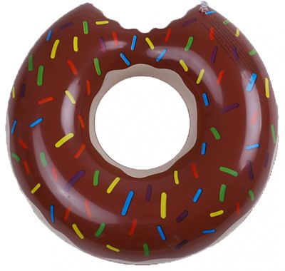 Boia Inflável G Redondo Donut Marrom