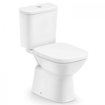 Kit Completo Vaso Sanitário com Caixa Acoplada e Assento Debba Branco