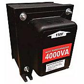 Autotransformador Com Protetor Térmico 4000Va 2800W - 110V<->220V Para Ar Condicionado 11.000 e 12.000 Btu¿S, Secador De Cabelo(Grande), Boiler 100L, Secadora De Roupa(Grande), Torneira Elétrica