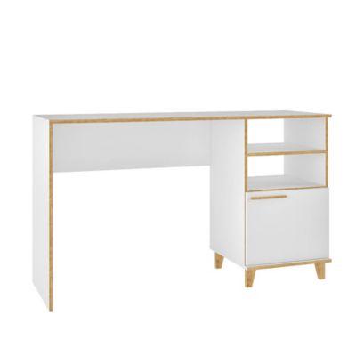 Escrivaninha Oslo 79x135x44,5cm Branco