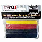 Espaguete Termo-retrátil 10mm 10 unidades Colorido