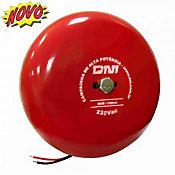 Campainha de Alta Potência Tipo Gongo 220V Vermelho