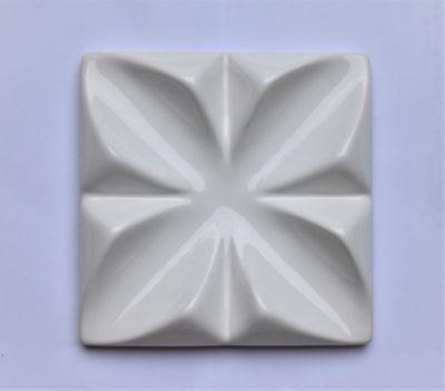 Revestimento Flor 3D 15X15 Branco