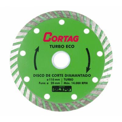 Disco Diamantado Eco Turbo 110mm Verde