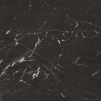 Porcelanato Esmaltado Polido Nero Reale 84x84cm Caixa 1,41m² Preto