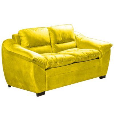 Sofa Lisboa Monteiro 94x172x98cm 2 Lugares Amarelo