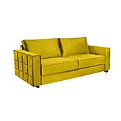 Sofa Santiago Monteiro 83x220x87cm Amarelo