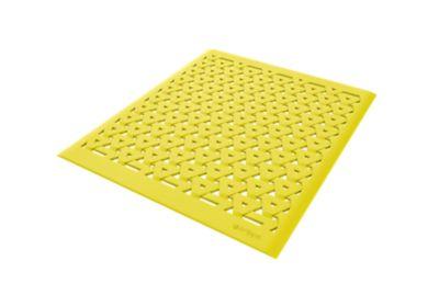 Grade de Pia 33,5x28,5x0,27cm Amarelo Crippa