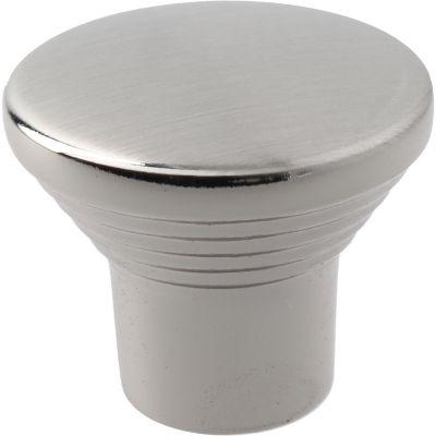 Puxador para Móveis Botão 2,3cm Níquel